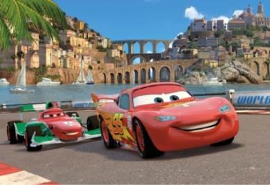 Una scena del film Cars 2 (Foto Ansa)