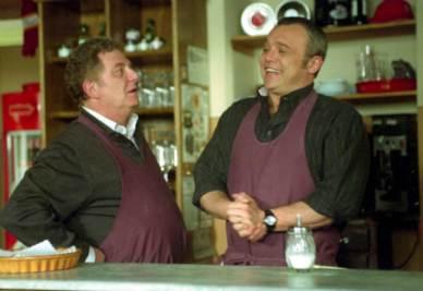Antonello Fassari con Claudio Amendola