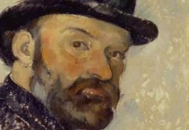 Un autoritratto di Cezanne