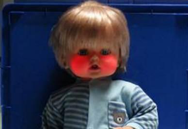 Il famoso bambolotto Cicciobello (Foto Ansa)