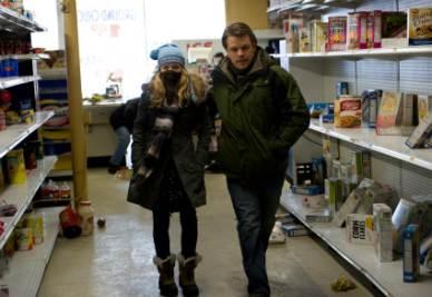 Una scena del film Contagion (Foto Ansa)
