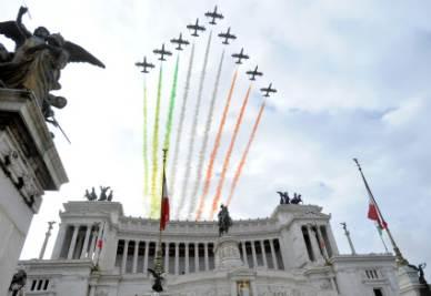 150 ANNI/ Tra concerti, inno di Mameli e Frecce Tricolori Roma si riscopre capitale