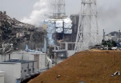 La centrale nucleare di Fukushima, foto Ansa