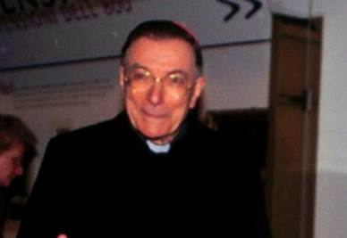 Il cardinale Giovanni Saldarini
