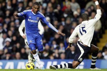 Kalou in azione con il Chelsea