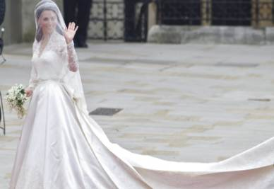 Kate Middleton sposa (foto ansa)
