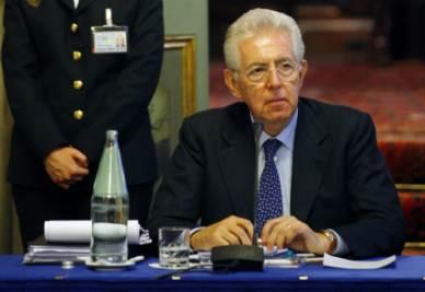 Mario Monti (Foto Ansa)