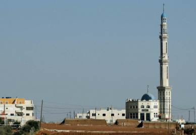 La moschea di Gesù a Madaba (Foto Ansa)