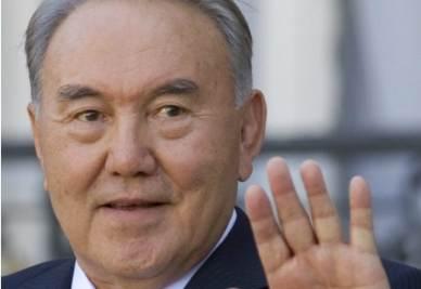 Il presidente del Kazakistan,  Nursultan Nazarbaiev (Ansa)