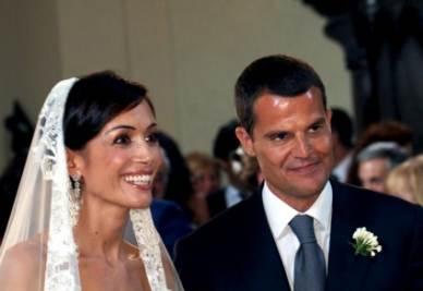 Matrimonio Carfagna (Foto Ansa)