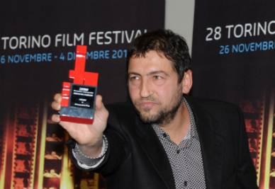 Il regista Alessandro Piva al Torino Film Festival (Foto Ansa)