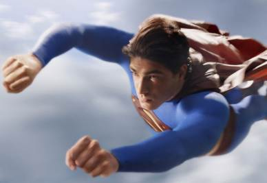 Una scena del film Superman Returns (Foto Ansa)