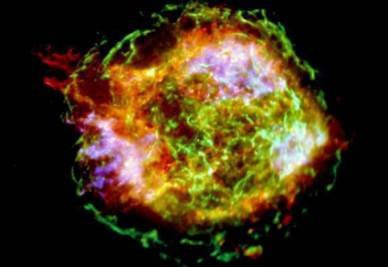 Un'immagine di una Supernova (Foto Ansa)