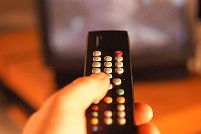 telecomando televisione