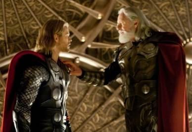 Una scena del film Thor (Foto Ansa)