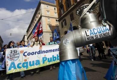 Un momento delle manifestazioni pro referendum (Foto: ANSA)