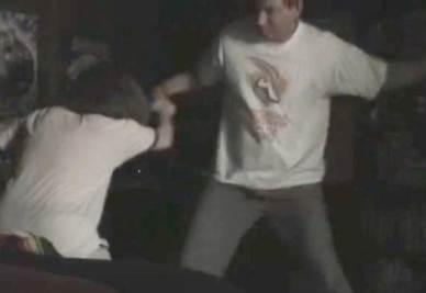 Una scena del video incriminato