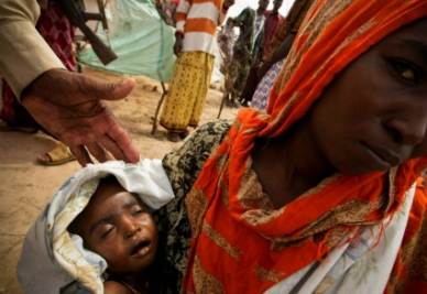 Carestia nel Corno d'Africa (Ansa)