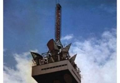 L'antenna della RAI a Milano