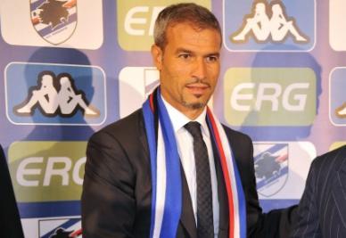 Atzori, allenatore della Sampdoria (Ansa)