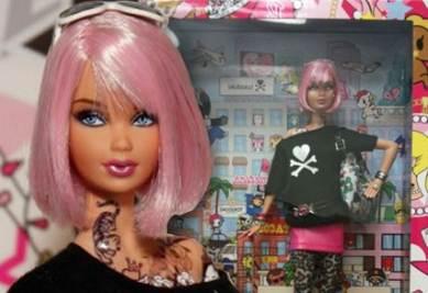 La Barbie tatuata