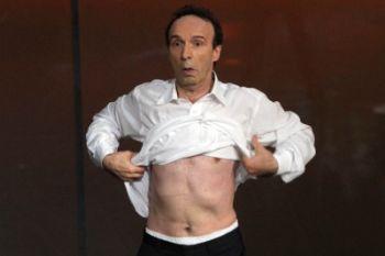 Roberto Benigni, foto Ansa