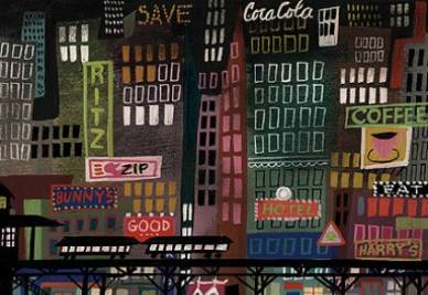 Una illustrazione di Mary Blair
