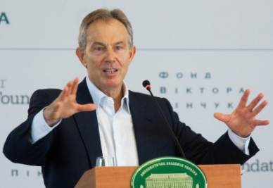 Tony Blair, foto Ansa