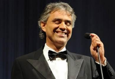 Andrea Bocelli (foto Ansa)
