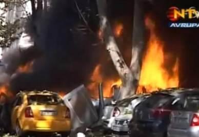 L'esplosione di oggi ad Ankara