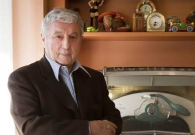 Sergio Bonelli, foto Ansa