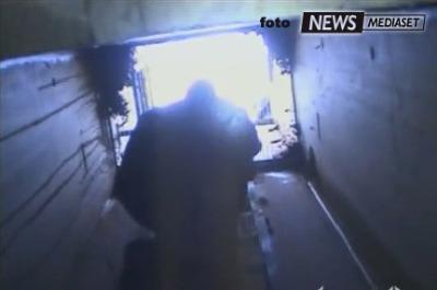 Le immagini dle bunker di Gheddafi