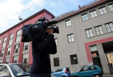 La casa incriminata del figlio del sindaco Moratti, foto Ansa