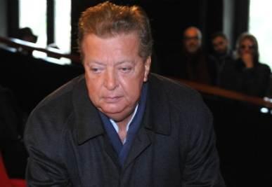 Vittorio Cecchi Gori, foto Ansa