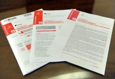 I moduli per il censimento