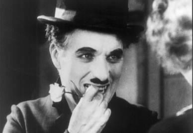 Il sorriso di Charlei Chaplin