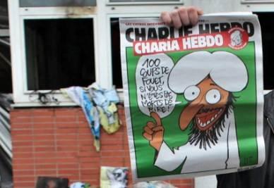 Il settimanale Charlie Hebdo, foto Ansa