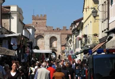 Il centro di Cittadella