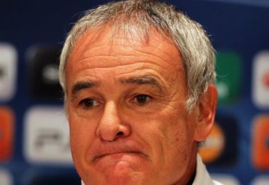 Claudio Ranieri, allenatore Inter (foto Ansa)