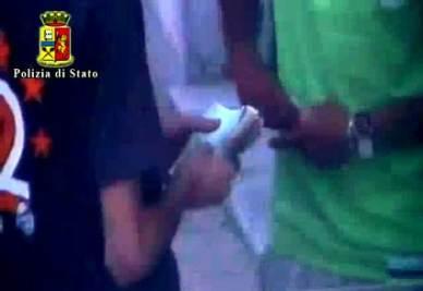 Un'immagine dal video della Polizia di Stato