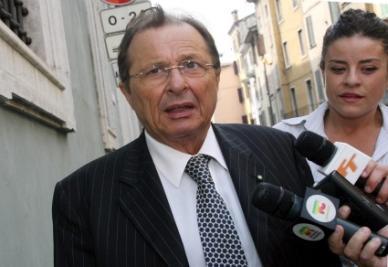Corioni, presidente del Brescia (foto Ansa)