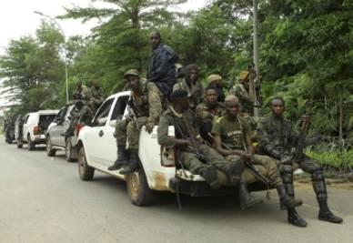 Le forze di Ouattara in Costa d'Avorio