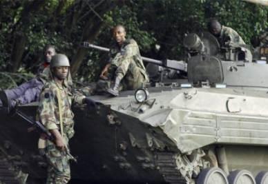 Un gruppo di soldati fedeli a Oauttara