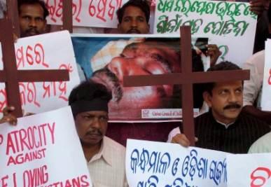 Manifestazione di cristiani pakistani, foto Ansa