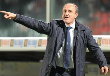 Il tecnico della Fiorentina Delio Rossi (foto ANSA)