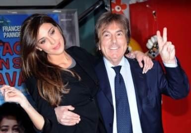 Fabrizio Del Noce e Belen Rodriguez, foto Ansa