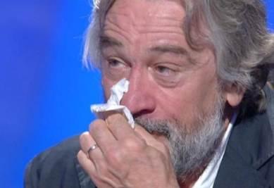 De Niro in lacrime a C'è posta per te