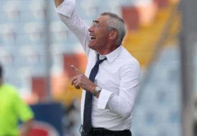 Reja, allenatore della Lazio (Ansa)