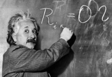 Albert Einstein  (Foto Ansa)