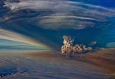 L'eruzione del Grimsvotn - Foto Ansa